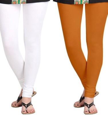 Roshni Creations Women,s White, Red Leggings