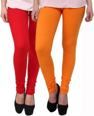 Hirshita Leggingss Women's Red, Orange Leggings