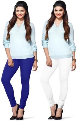 Amul Florio Women's Blue, White Leggings