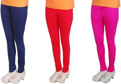 Radhika Garments Women's Blue, Red, Pink Leggings