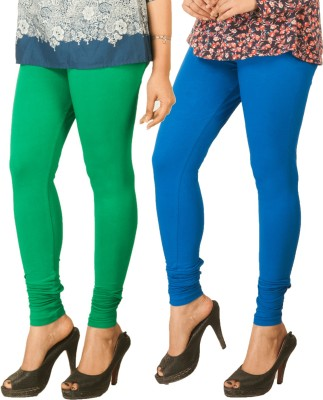 Berries Women's Green, Blue Leggings