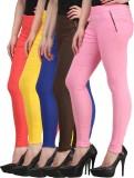 Jainish Women's Yellow, Blue, Pink, Red,...