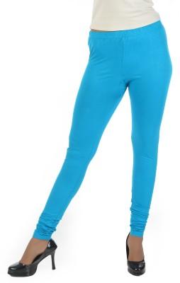 Crezyonline Women's Blue Leggings