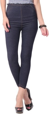Sanchi Collection Women,s Blue Jeggings