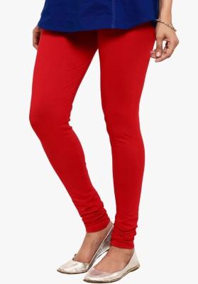 Saree Exotica Women's Red Leggings