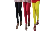 LatestQ Women's Black, Red, Yellow Leggi...