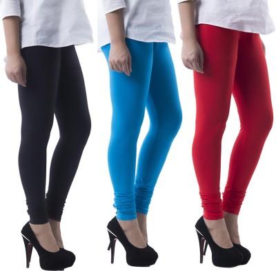 Prashil Women's Blue, Red, Black Leggings