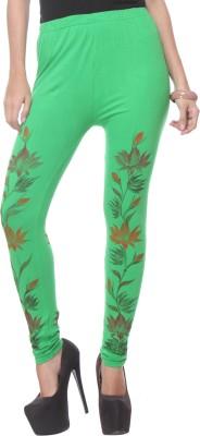 Lavennder Women's Light Green Leggings