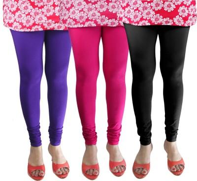 Green Zone Women's Purple, Pink, Black Leggings