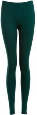 Natural Women's Dark Green Leggings