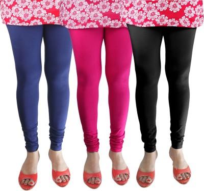 Green Zone Women's Blue, Pink, Black Leggings