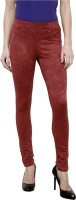 Westwood Women's Maroon Jeggings best price on Flipkart @ Rs. 999