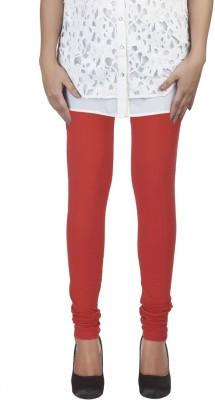 HAPPYSHOPP Women's Red Leggings