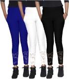 Xarans Women's Blue, White, Black Jeggin...