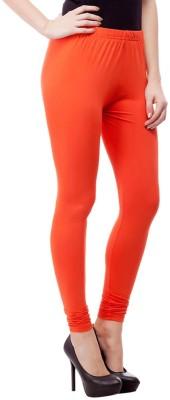 JUST CLIKK Women's Orange Leggings