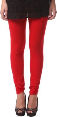 FashionExpo Women's Red Leggings