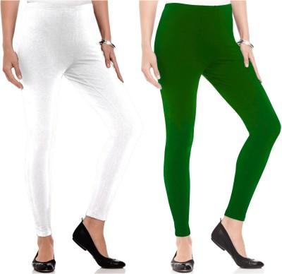 Kamuk Life Women's White, Green Leggings