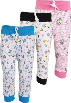 WEECARE Baby Girl's Black, Pink, Blue Leggings