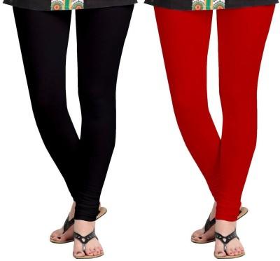 Kiyaracollection Women,s Red Leggings