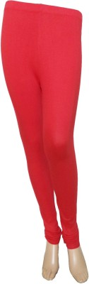 Butterfly Colours Women's Red Leggings