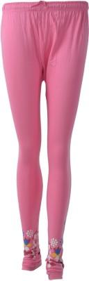 SUVIDHAA Women's Pink Leggings