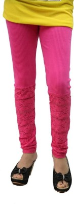 Fashionkala Women's Pink Leggings