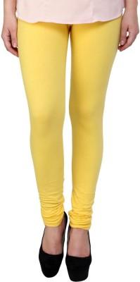 Aricrea Women's Yellow Leggings