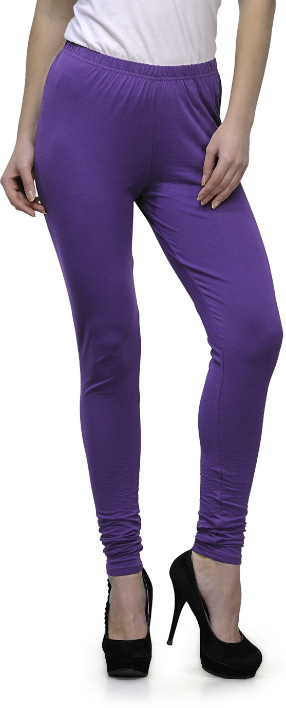 Ffu Womens Purple Leggings