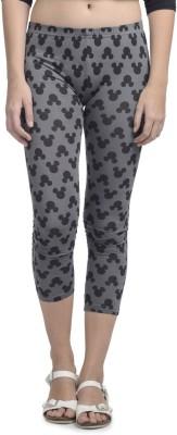 Mickey & Friends Women's Black Leggings