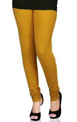 SareesHut Women's Orange Leggings