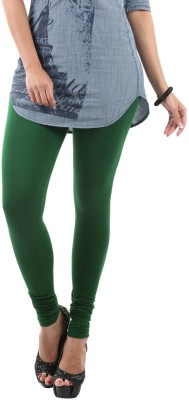 Fashionjackpot Women's Green Leggings