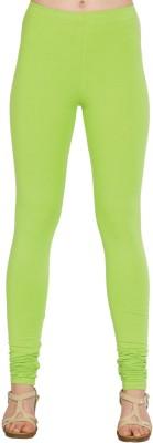 Xora Women's Light Green Leggings