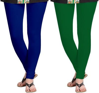 ZACHARIAS Women's Blue, Green Leggings