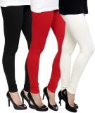 Pannkh Women's Black, Red, White Legging...
