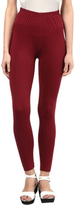Sampoorna Collection Women's Maroon Leggings