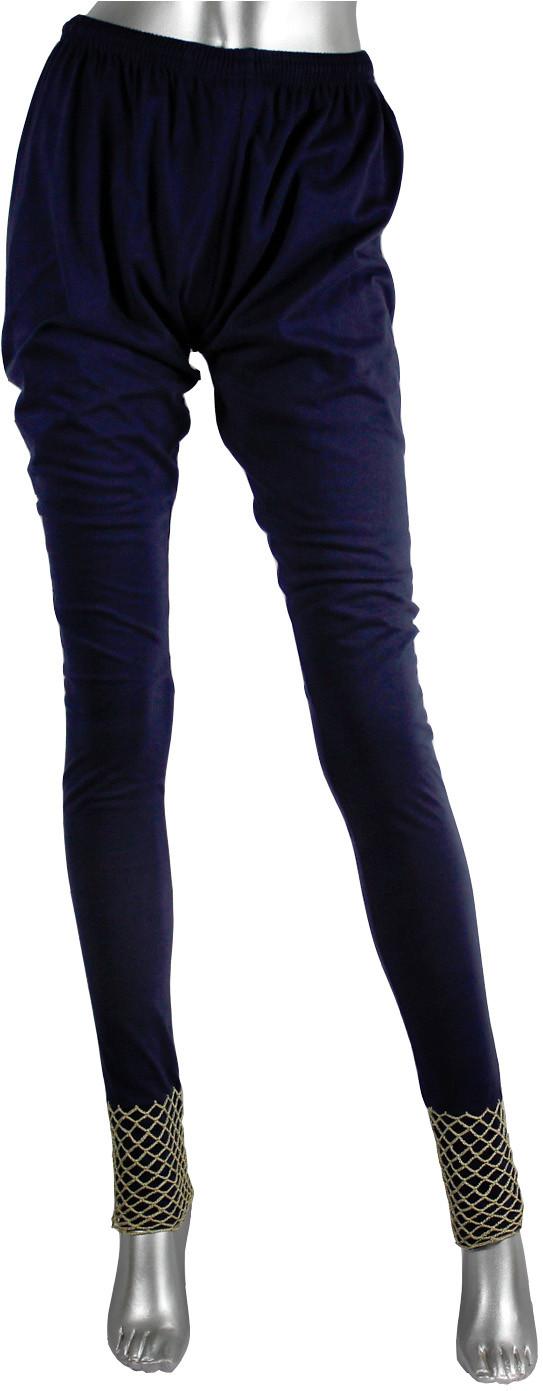 moKanc Womens Dark Blue Leggings