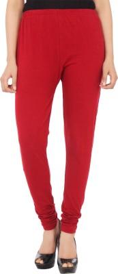 Xpose Women's Maroon Leggings