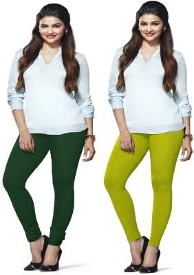 Amul Florio Women's Dark Green, Light Green Leggings