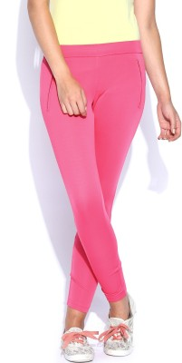 Kook N Keech Women's Pink Treggings