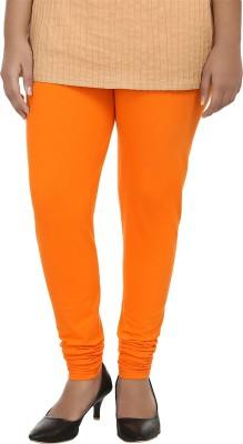 Day By Day Women's Orange Leggings