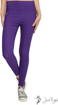 Jack Royal Women's Purple Jeggings