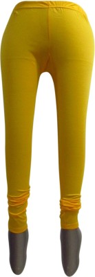 Revinfashions Women,s Yellow Leggings