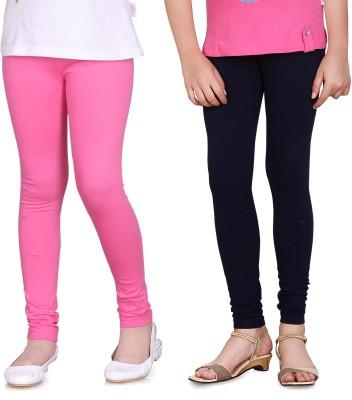 Sini Mini Girl's Pink, Blue Leggings