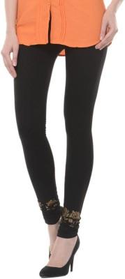 Lavennder Women's Black Leggings