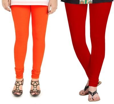 ZACHARIAS Women's Orange, Red Leggings