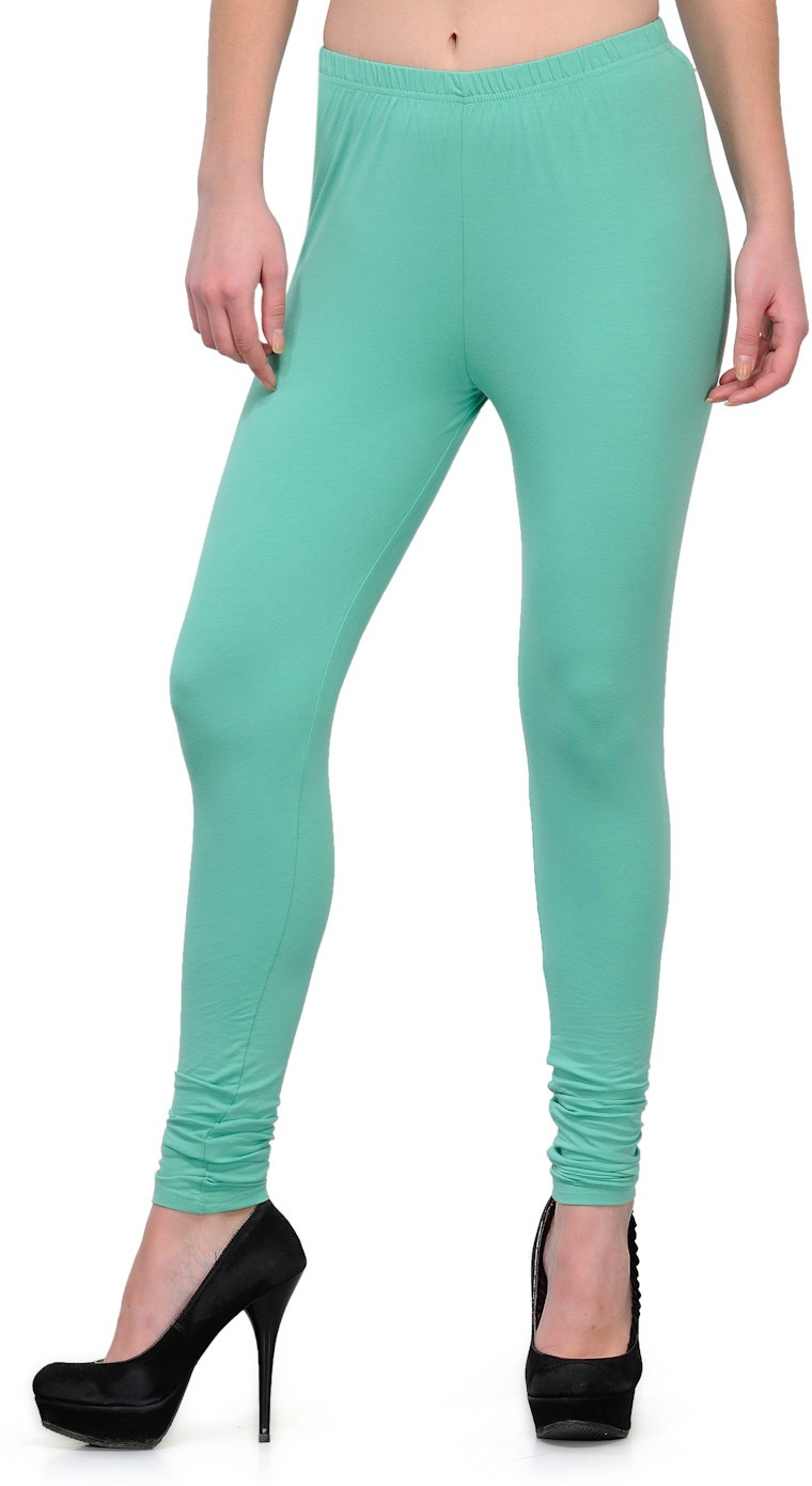 Ffu Womens Light Green Leggings