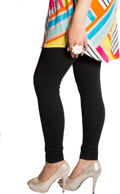 Red Saffron Women's Black Leggings