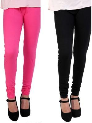 CP Bigbasket Women's Pink, Black Leggings