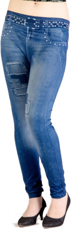 Qurves Women's Multicolor Leggings