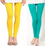 Paranoid Women's Light Blue, Yellow Legg...